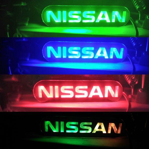 Nissan Illuminated Badge
