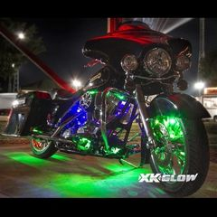 14 Pod 84 LED dual Color LED Underglow Kit for Motorcycle or ATV