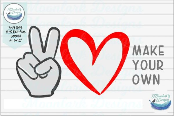 Download Peace Love And Country Music Svg - Layered SVG Cut File