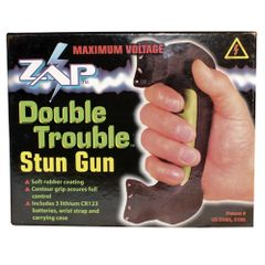 DOUBLE TROUBLE STUN GUN