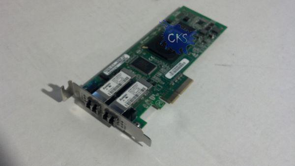 SUN 375-3356,SG-XPCIE2FC-QF4) 4GB PCI-E DUAL PORT HBA W/ Low profile bracket (Refurbished) S23