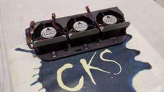 SUN MICROSYSTEMS 370-7678 TRIPLE FAN ASSEMBLY 60mm Fan (x3), RoHS:Y ( Refurbished ) S24