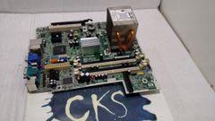 HP 461536-001 / 450667-001 AJ408AV MOTHERBOARD WITH INTEL PENTIUM DUAL CORE 2.40GHZ E2200 PROCESSOR & 450666-001 HEATSINK ( Refurbished ) S37