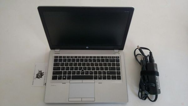 HP ELITEBOOK FOLIO 9480M i5 1.70Ghz/2.40Ghz,8GB,256GB SSD WIN 10 HOME GRADE C S12