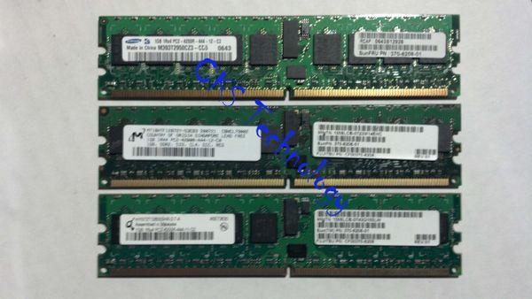 SUN 370-6208 , 1GB DDR2 DIMM, 533 MHz, RoHS:Y Sun MicroSystems (Refurbished) S44