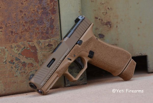 Agency Arms Glock 19X 9mm Peacekeeper Build AOS