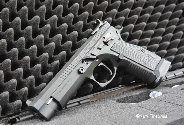CZ 75 TS Czechmate 9mm 91174