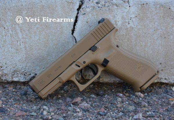 Glock 19X 9mm 3 Mags No CC Fee Coyote Tan NS 19 17