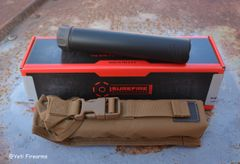 Surefire SOCOM260-TI Suppressor Black or FDE