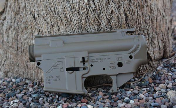Aero Precision Stripped Receiver Set AR-15