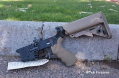 LMT MARS-LS AR-15 5.56 Lower FDE