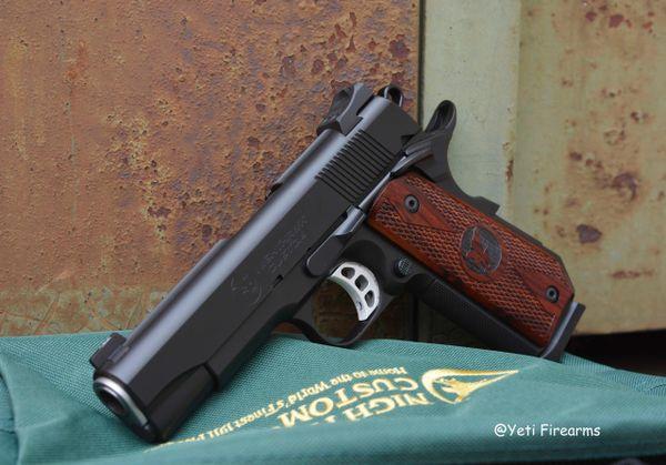 Nighthawk Custom Talon II CCC Concealed Carry Curve 1911 .45