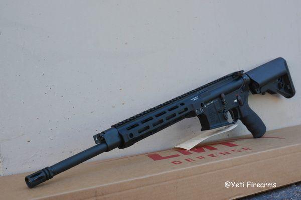 "Lewis Machine & Tool MLC Gas Piston Rifle MLOK 16"" 5.56mm"