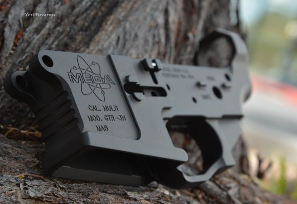 Mega Arms Billet Ambi AR-15 Lower GTR-3H