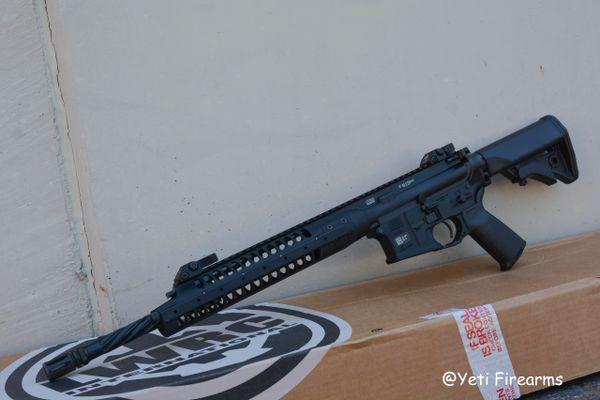 """LWRC IC-A5 Gas Piston AR-15 5.56mm Rifle 16"""""""