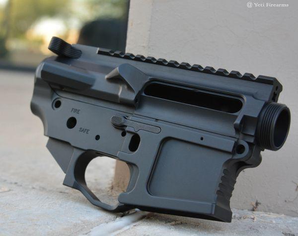 Mega Arms AR-15 Billet Ambi Receiver Set M0910-HA