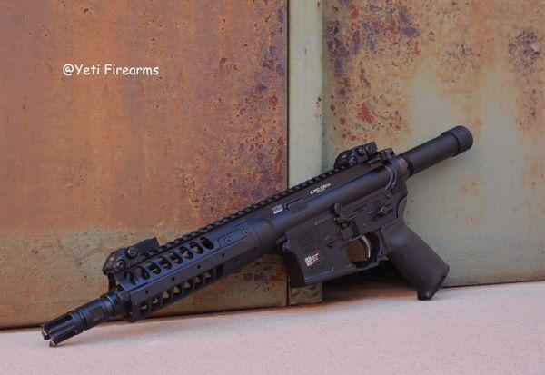LWRC IC-PSD Pistol 5.56mm