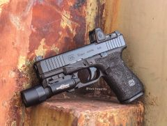 Triarc Stippled Glock 19 G5 MOS W/ RMR & X300