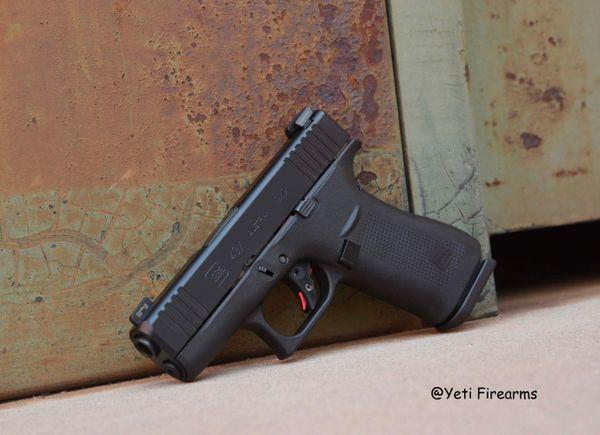 Glock 43X 9mm W/ Ameriglo Bold NS & Zev Trigger
