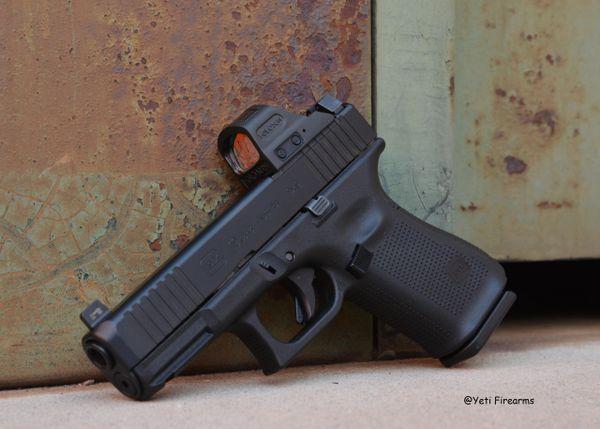Glock 19 G5 9mm MOS W/ Holosun & Ameriglo NS