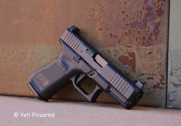 Glock 19 G5 MOS 9mm W/ Agency Arms Trigger & NS