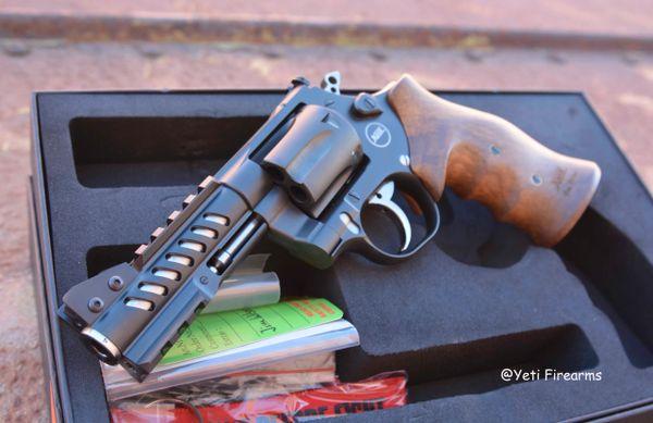 """Nighthawk Custom Korth Ranger Revolver 4"""" .357 Mag"""
