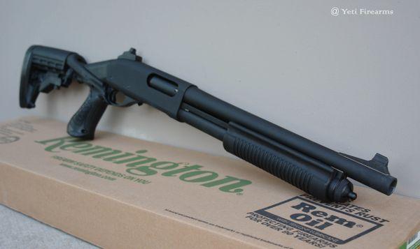 "Remington 870 Police 14"" 12 Ga SBS"