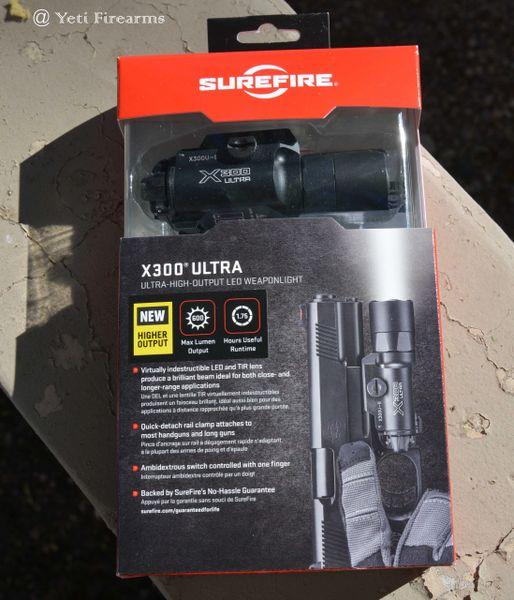Surefire X300 Ultra 600 Lumen X300U-B