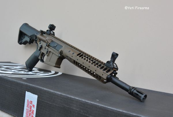 "LWRC M6IC-A5 12.7"" SBR Patriot Brown NFA"