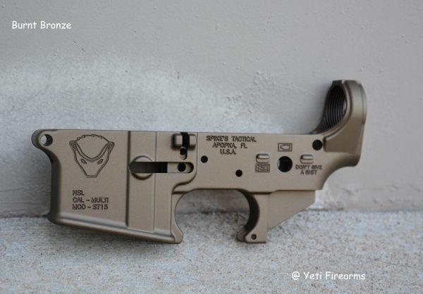 X-Werks Spikes Tactical Stripped Lower