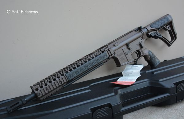 Daniel Defense M4A1 Mil Spec + 5.56mm FDE 14.5 Pinned
