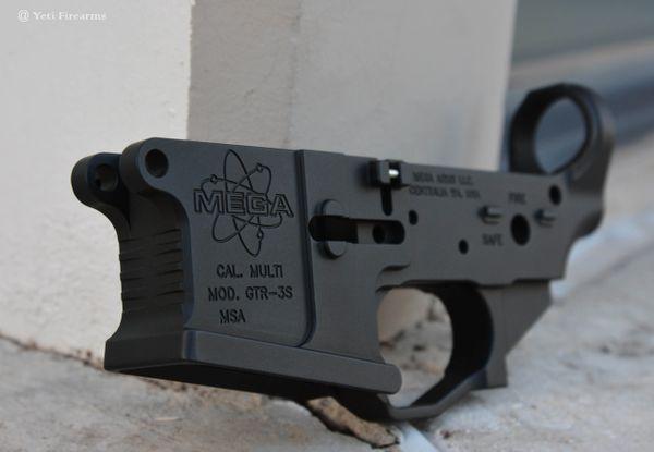 Mega Arms Ambi Billet AR-15 Lower GTR-3S