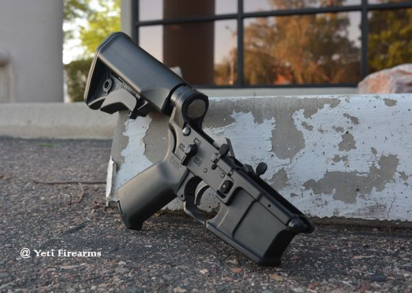 LWRC M6IC Complete AR-15 Lower Pulled Apart