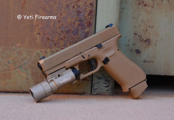 Glock 19X 9mm Package W/ Agency Arms & Surefire X300U-B