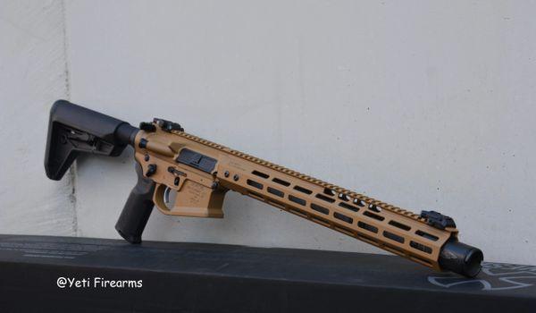 Noveske Gen 4 Infidel AR-15 5.56mm Tiger Eye Brown