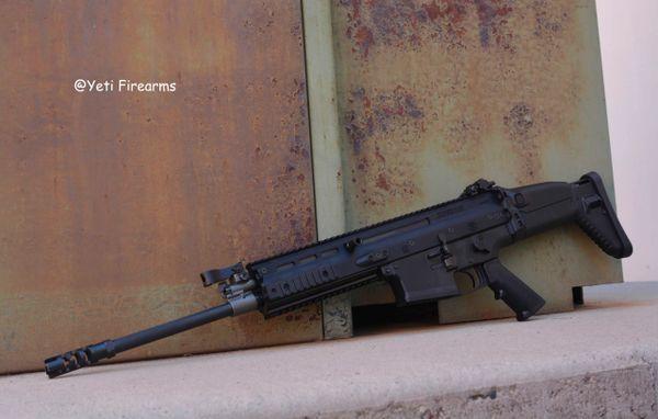 FN SCAR 17s 7.62x51 Black