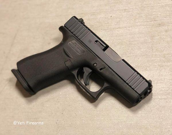 Glock 43X 9mm G5 Black Slide