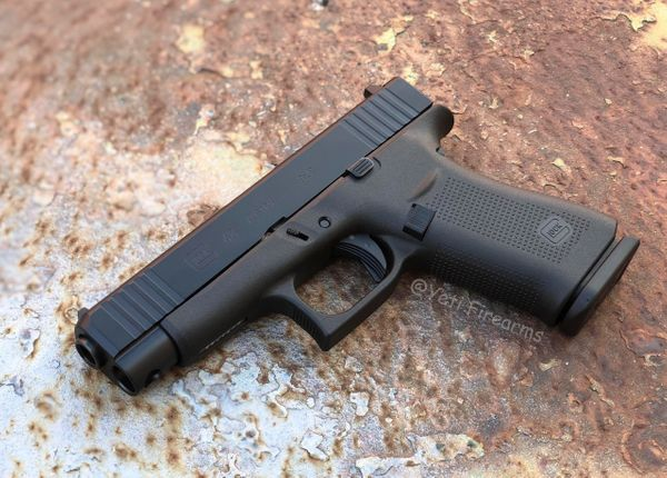 Glock 48 9mm G5 Black Cerakote Slide