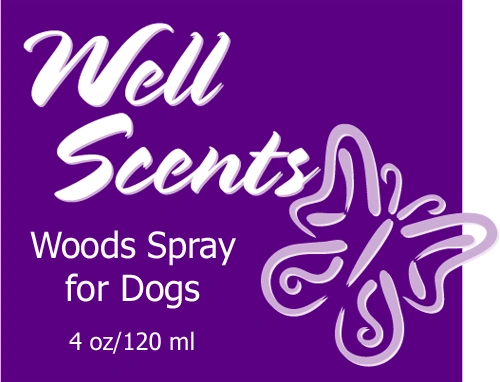 Well Scents Woods Spray for Dogs