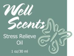 Well Scents Stress Relieve Oil or Spray