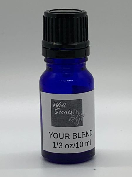 Diffuser Locket Essential Oil Blend, Calming or Energizing
