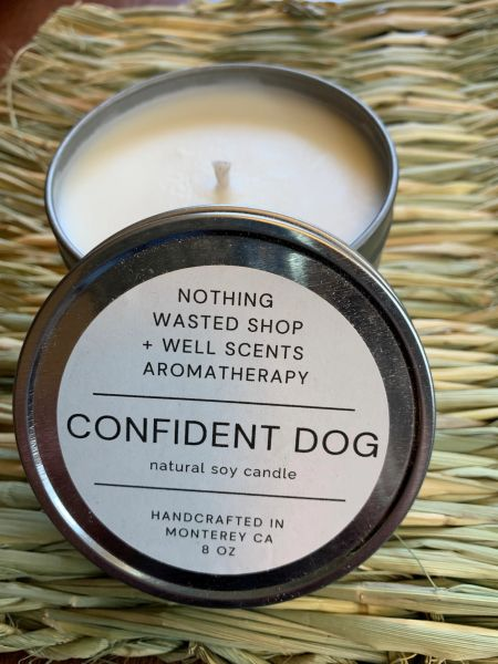 Confident Dog Natural Soy Candle