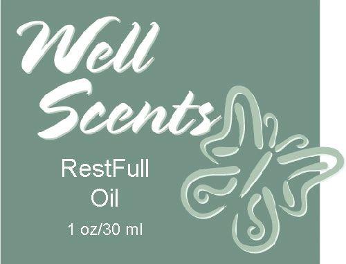 Well Scents RestFull Oil