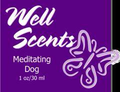 Well Scents Meditating Dog