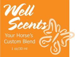 Well Scents Custom Blend for Horses - 2 oz.