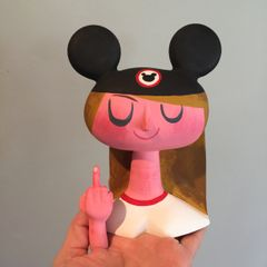 Mousketeer F*ck Off resin bust