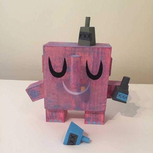 Pink Elephant Axephunt