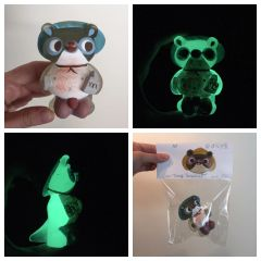 Glow in the dark Tanuki