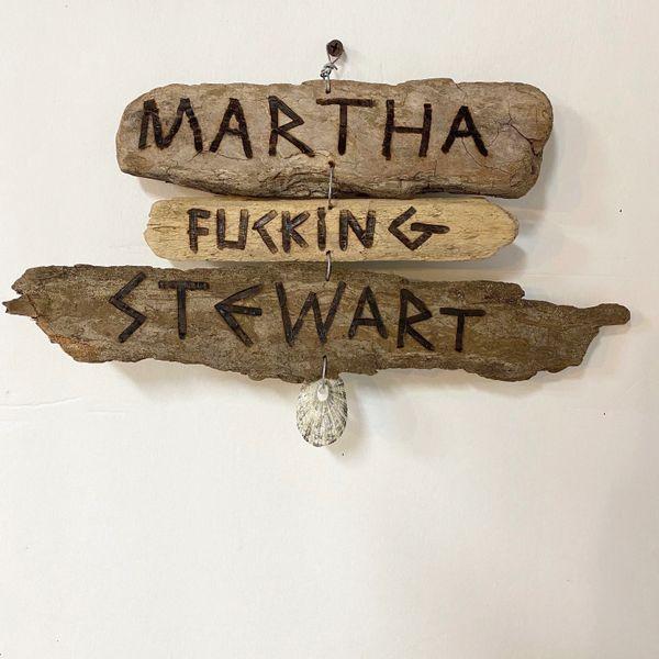 Martha Fucking Stewart