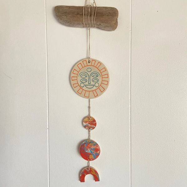 ceramic wall hanging A